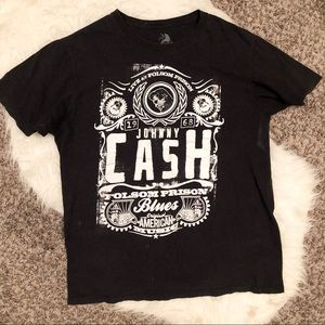 Large Johnny Cash graphic tee